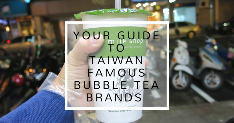 Taiwan Famous Bubble Tea Brand Guide: MORE THAN JUST KOI!